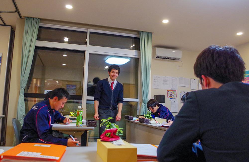 葛巻町公営塾の教室